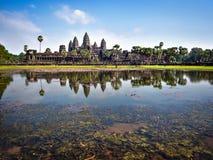 Der Tempel von Angkor Wat, Siem Reap, Kambodscha Stockbild