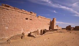 Der Tempel von Deir EL-Hagar Stockbild