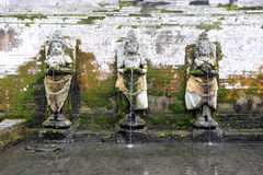 Der Tempel von Goa Gajah nahe Ubud Lizenzfreies Stockbild
