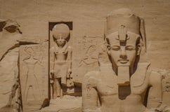 Der Tempel von Ramses II stockbilder