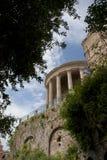 Der Tempel von vesta im tivoli Lizenzfreie Stockfotografie