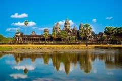 Der Tempelkomplex von Angkor Wat Lizenzfreies Stockbild