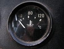 Der Temperaturfühler Stockfoto
