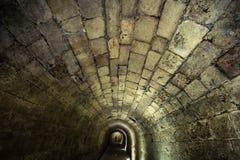 Templar Tunnel in Acco Lizenzfreie Stockbilder