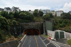 Der Terrassen-Tunnel Stockbild