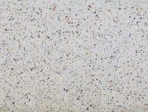 Der Terrazzo, der alte Beschaffenheit ausbreiten oder der Poliersteinhintergrund mit Kopienraum addieren Text Lizenzfreie Stockbilder