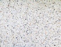 Der Terrazzo, der alte Beschaffenheit ausbreiten oder der Poliersteinhintergrund mit Kopienraum addieren Text Stockbild