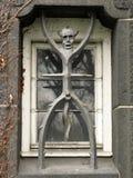 Der Teufel als Fenstergitter Lizenzfreie Stockfotografie