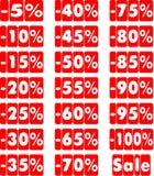 Der Textverkauf Lizenzfreie Stockbilder