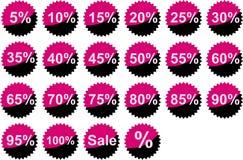 Der Textverkauf Stockfotos