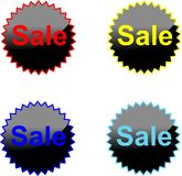 Der Textverkauf Lizenzfreies Stockbild