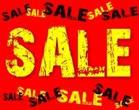 Der Textverkauf Lizenzfreie Stockfotos