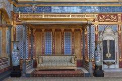 Der Thron des Sultans stockbilder
