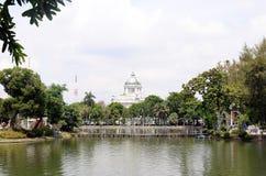 Der Thron Hall Ananta Samakom Stockbild