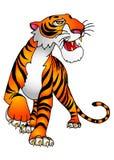 Der Tiger Stockfotografie