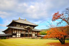 Der Todaiji-Tempel in Nara Japan stockfoto