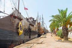 Der touristische Hafen von Sousse Lizenzfreies Stockfoto