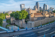 DER TOWER VON LONDON Stockbilder