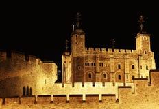 Der Tower von London, eine der ältesten Festungen in London Lizenzfreie Stockbilder