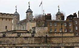 DER TOWER VON LONDON London, Vereinigtes Königreich lizenzfreie stockfotografie