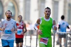 Der traditionelle jährliche Marathon in Florenz Lizenzfreie Stockbilder
