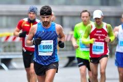 Der traditionelle jährliche Marathon in Florenz Stockbilder
