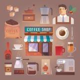 Der transparente einfache Schatten ersetzen Hintergrund getränke Kaffee Lizenzfreies Stockfoto