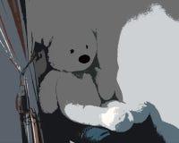 Der traurige kleine Bär Lizenzfreie Stockfotos