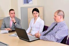 Der Treffenherstellung und -darstellung Lizenzfreies Stockbild