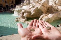 der Trevi-Brunnen Stockfotografie
