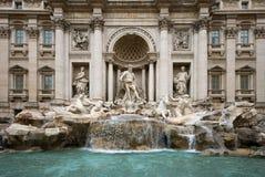 Der Trevi-Brunnen - Rom Lizenzfreies Stockbild