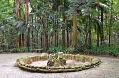 Der Trianon-Park auf der Paulista-Allee, Sao Paulo, Brasilien stockfoto