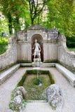 Der Trickbrunnen in Hellbrunn-Palast, Salzburg, Österreich lizenzfreie stockfotos