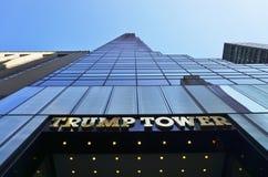 Der Trumpf-Turm auf Fifth Avenue in New York Stockfotos