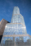 Der Trumpf-Turm in Chicago Stockbild