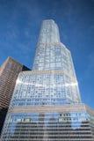 Der Trumpf-Turm in Chicago Stockbild