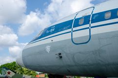Der Tupolev Tu-154 stockfotografie