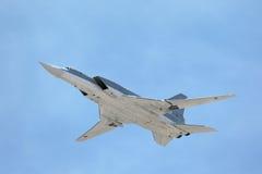 Der Tupolev Tu-22M3 (Rückschlag) Lizenzfreie Stockfotos