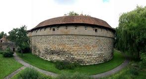 Der Turm der Wand in der alten Stadt von Rothenburg-ob der Tauber Stockbilder