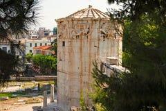 Der Turm der Winde, Griechenland Stockbilder