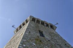 Der Turm des Berg-Titanen Stockfoto