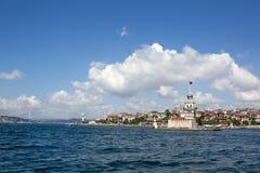 Der Turm des Mädchens, Istanbul, die Türkei Lizenzfreie Stockfotos
