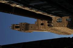 Der Turm des Palazzo Vecchio, Florenz, Italien Stockbild