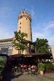 Der Turm ESCHENHEIMER TURM in Frankfurt am Main, Deutschland Lizenzfreie Stockbilder
