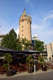 Der Turm ESCHENHEIMER TURM in Frankfurt am Main, Deutschland Stockfotos