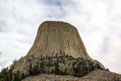Der Turm-Nationaldenkmal des Teufels Lizenzfreie Stockbilder
