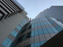 Der Turm von der Augenansicht des Wurmes Lizenzfreie Stockbilder
