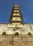 Der Turm von manora Fort mit Zinne und Fenster Lizenzfreie Stockfotografie
