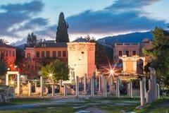 Der Turm der Winde in Athen, Griechenland Stockfoto