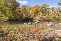 Der Tygart-Fluss, West Virginia Lizenzfreie Stockfotografie